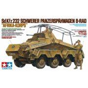 """Tamiya 35297  Sd.Kfz.232 Schwerer Panzerspähwagen 8-Rad """"Afrika-Korps"""""""