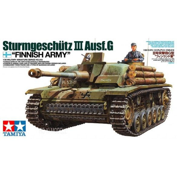 Tamiya 35310  Sturmgeschutz III Ausf.G Finnish Army
