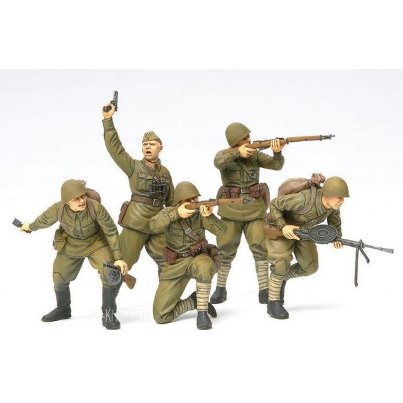 Tamiya 35311 Russian Assault Infantry (1941-1942)