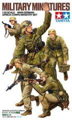 Tamiya 35314  German Africa Korps Set