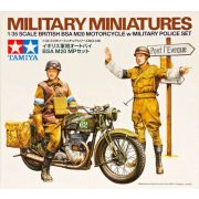 Tamiya 35316 British BSA M20 Motorcycle with Military Police