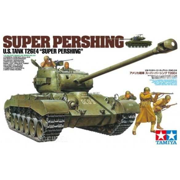 Tamiya 35319  T26E4 Super Pershing