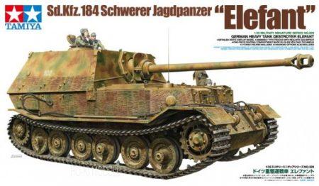 "Tamiya 35325  Sd.Kfz.184 Schwerer Jagdpanzer ""Elefant"""