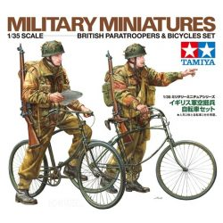 Tamiya 35333 British Paratroopers & Bicycle set