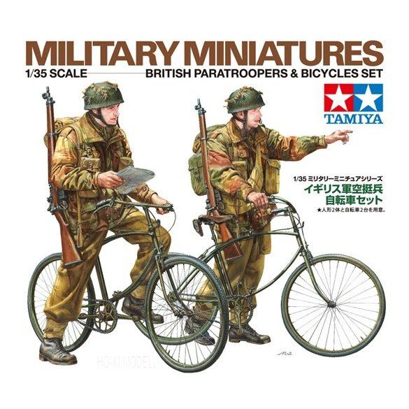 Tamiya 35333 British Paratroopers & Bicycle set
