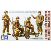 Tamiya 35337 British Paratroopers - w/Small Motorcycle