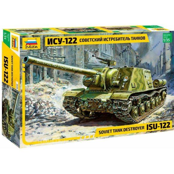 Zvezda 3534  ISU-122 Soviet Tank Destroyer