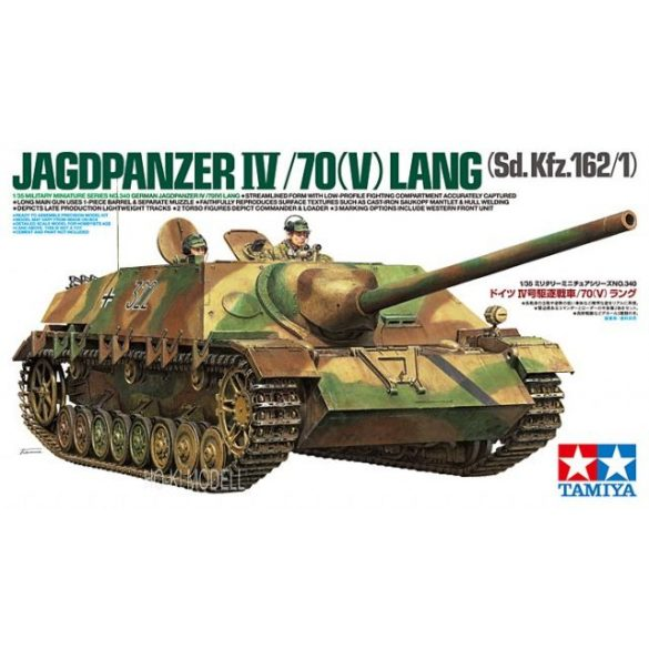 Tamiya 35340  Jagdpanzer IV/70(V) Lang (Sd.Kfz.162/1)