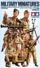 Tamiya 35343 German Africa Corps Luftwaffe (Afrika Korps, Wehrmacht)