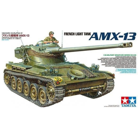 Tamiya 35349 French Light Tank AMX-13