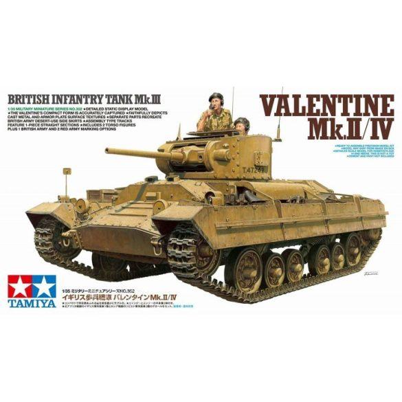 Tamiya 35352 Infantry Tank Mk. III Valentine Mk. II/ IV