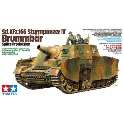 Tamiya 35353 German Assault Tank IV Brummbär Late Production