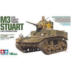 Tamiya 35360 New US Light Tank M3 STUART Late Production