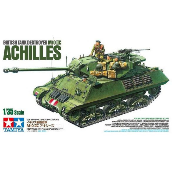 Tamiya 35366 British Tank Destroyer M 10 IIC Achilles