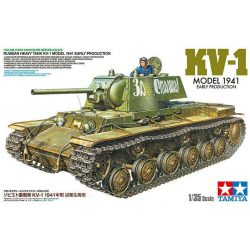 Tamiya 35372  WWII Russian Heavy Tank KV-1 Model 1941 (Early Prod.)