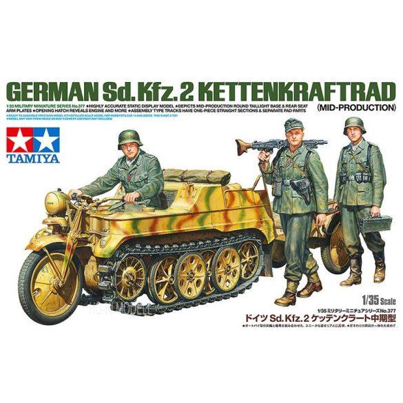 Tamiya 35377 German Sd.Kfz.2 Kettenkraftrad (Mid-Production)