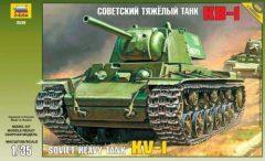 Zvezda 3539 Soviet Heavy Tank KV-1