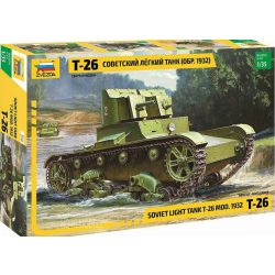 Zvezda 3542 T-26 Soviet Light Tank