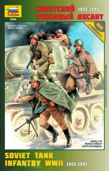 Zvezda 3544 Soviet WWII Tank Infantry