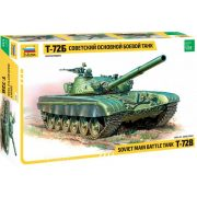 Zvezda 3550 Russian Main Battle Tank T-72B