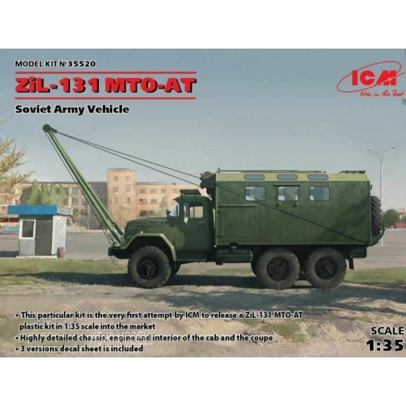 ICM 35520  ZiL-131 MTO-AT  Soviet Recovery Truck