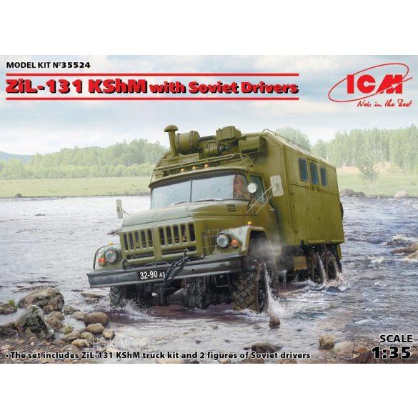 ICM 35524 ZiL-131 KShM with Soviet Drivers