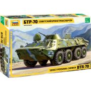 Zvezda 3556 BTR-70 Soviet Personal Carrier