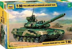 Zvezda 3573  T-90 Russian Main Battle Tank