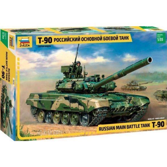 Zvezda 3573  T-90 Russian Main Battle Tank