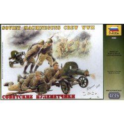 Zvezda  3584 WWII Soviet Machine-Guns Crew 1943-1945