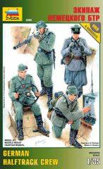 Zvezda 3585 German halftrack crew