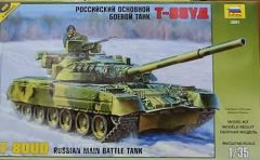 Zvezda Russian T-80UD Main Battle Tank