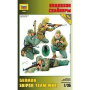 Zvezda 3595 German Sniper Team
