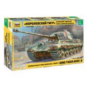 Zvezda 3601  King Tiger Ausf.B German Heavy Tank (Henschel Turret)
