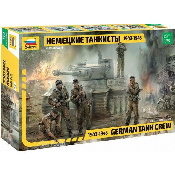 Zvezda 3614  German Tank Crew (1943-1945)