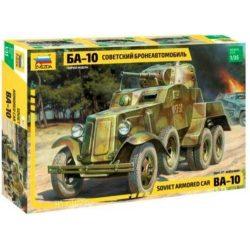Zvezda 3617 BA-10 Soviet Armored Car