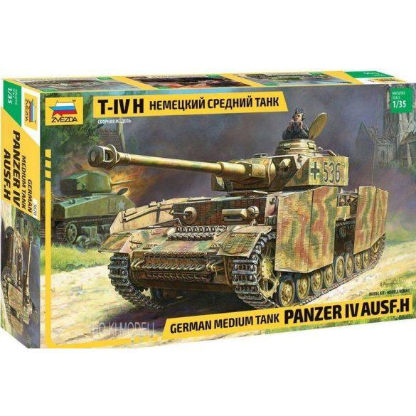 Zvezda 3620 Panzer IV. Ausf H  German Medium Tank