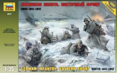 Zvezda 3627 German Infantry (Eastern Front 1941/1942)