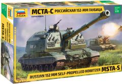 Zvezda 3630  152 mm Self-Propelled Howitzer MSTA-S