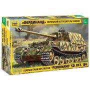 """Zvezda 3653 German Tank Destroyer """"Ferdinand""""  Sd.Kfz.184"""