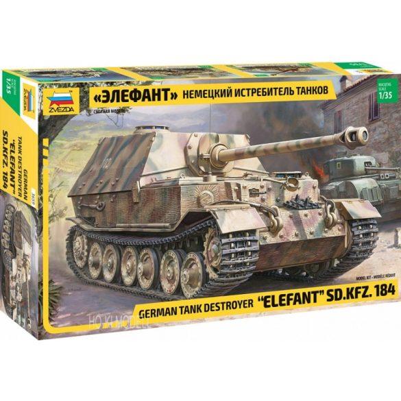 Zvezda 3659 German Tank Destroyer Elefant SD.KFZ. 184