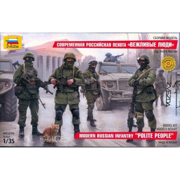 Zvezda 3665 Modern Russian Infantry