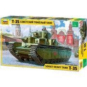 Zvezda 3667 T 35 Soviet Heavy Tank