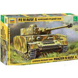 Zvezda 3674 German Tank Panzer IV Ausf.G (Sd.Kfz.161)