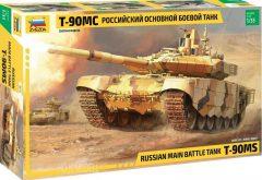Zvezda 3675 Russian Main Battle Tank T-90MS