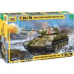 Zvezda 3686  T-34/76 Soviet Medium Tank 1942