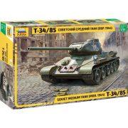 Zvezda 3687 Soviet Medium Tank T-34-85 Mod.1944