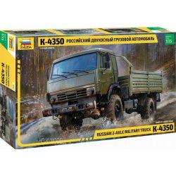 Zvezda 3692 Russian 2-Axle Military Truck Kamaz-4350