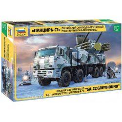 "Zvezda 3698 Russian Anti-Aircraft System Pantsir-S1 ""SA-22 GREYHOUND"""