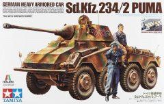 Tamiya 37018 German Heavy Armored Car Sd.Kfz. 234/2 Puma